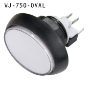 WJ-750 SERIES, OVAL PUSH BUTTON
