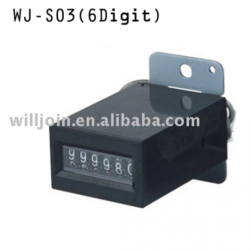 ELECTRONIC 6 DIGIT COIN COUNTER METER