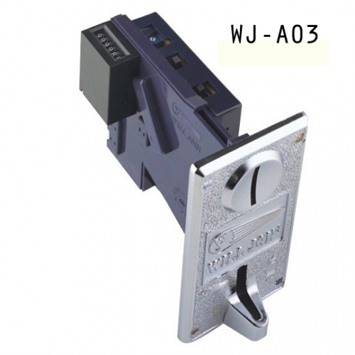 ELECTRONIC COIN ACCEPTOR / COIN SELECOTR WITH METER